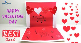 How to Make a Cute Homemade Pop Up Valentine's Card