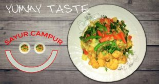 How to Cook Sayur Campur | Mixed Vegetables Recipe for (Weight Loss) #2018