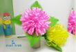 How to Make Paper Dahlia Flower at Home #2019